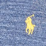 Young Men: Polo Ralph Lauren Polo Shirts: River Blue Polo Ralph Lauren CSTM MESH HAMMOND BLUE