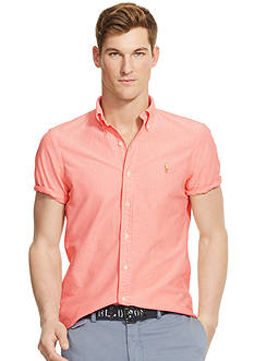 Polo Ralph Lauren SS OXFORD PERSIMMON