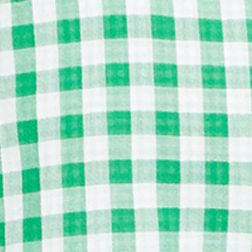 St Patricks Day Outfits For Men: Green Gingham Polo Ralph Lauren DOUBLE FACE 115B RED GINGHAM