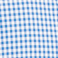 Mens Designer Shirts: Blue/White Polo Ralph Lauren SLIM POPLIN 704B PURPLE/WHITE