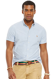 Polo Ralph Lauren Short-Sleeved Oxford Shirt