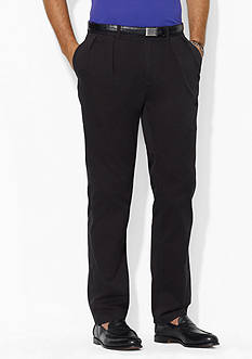 Polo Ralph Lauren Classic-Fit Pleated Chino Pants