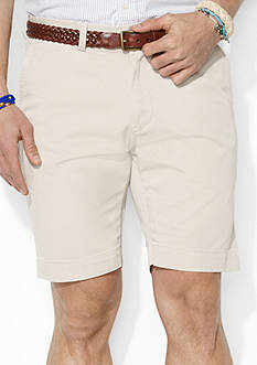 Polo Ralph Lauren Classic-Fit Flat-Front 9 Chino Short