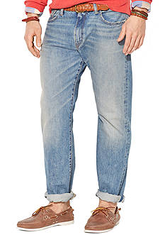 Polo Ralph Lauren Straight-Fit Lightweight Dayton-Wash Jeans