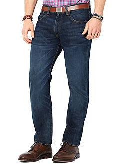 Polo Ralph Lauren Straight-Fit Lightweight Morris-Wash Jeans