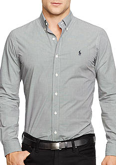 Polo Ralph Lauren Slim-Fit Checked Poplin Shirt