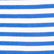 Plain and Striped T-shirts for Men: Cruise Royal Polo Ralph Lauren SS STR TEE ROYAL/WHITE