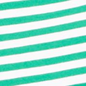Plain and Striped T-shirts for Men: Galway Green Polo Ralph Lauren SS STR TEE GREEN/WHITE