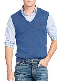 Polo Ralph Lauren Pima Cotton V-Neck Vest