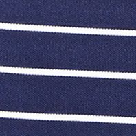 Mens Designer Polo Shirts: French Navy/White Polo Ralph Lauren PERF MESH STR LIQ BLU/WHT