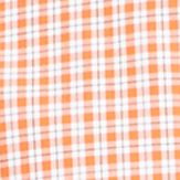 Men: Polo Ralph Lauren Casual Shirts: College Orange/English Ivy Polo Ralph Lauren POPLIN PLAID 401D COLLEGE ORANGE/ENGLISH IV