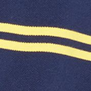 Shirts For Guys: Short Sleeve: Newport Navy/Racing Yellow Polo Ralph Lauren SS STR MESH CLASSIC WINE/NEWPORT NAVY