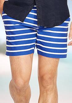 Polo Ralph Lauren Striped Mainship Swim Trunk