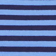 Young Men: Solids & Stripes Sale: Newport Navy/Maidstone Blue Polo Ralph Lauren Striped Jersey Crewneck Tee
