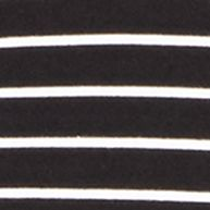 Young Men: Polo Ralph Lauren Graphic Shop: Polo Black/White Polo Ralph Lauren Striped Jersey Crewneck Tee