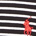 Mens Designer Polo Shirts: Polo Black/White Polo Ralph Lauren SS FEATHER MESH ORANGE/WHITE