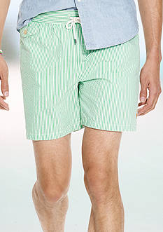 Polo Ralph Lauren Seersucker Traveler Swim Shorts