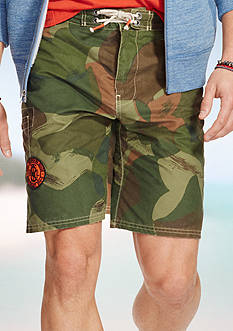 Polo Ralph Lauren Camo Shelter Island Swim Trunks