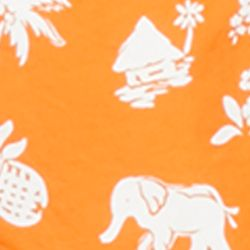 Polo Ralph Lauren Swimwear: Fiesta Orange Polo Ralph Lauren TRAVELER ORANGE ELEPHANT