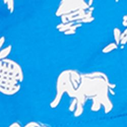 Polo Ralph Lauren Swimwear: Marbella Blue Polo Ralph Lauren 5.75 -in. Traveler Swim Trunks