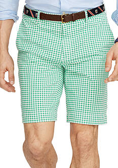 Polo Ralph Lauren Classic-Fit Checked Cotton Shorts