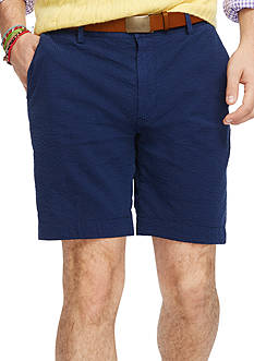 Polo Ralph Lauren Classic-Fit Stretch-Seersucker Shorts