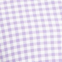 Mens Designer Shirts: Soft Purple/White Polo Ralph Lauren OXFORD 656C BLACK/WHITE