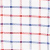 Mens Designer Shirts: White/Red Polo Ralph Lauren OXFORD 664C ROYAL/CITRUS