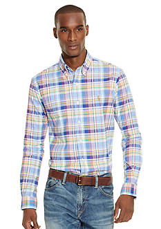 Polo Ralph Lauren Plaid Oxford Shirt