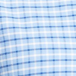 Mens Designer Shirts: Sky Blue/White Polo Ralph Lauren OXFORD 663 SKY BLUE/WHITE