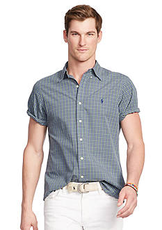 Polo Ralph Lauren Short-Sleeve Checked Shirt