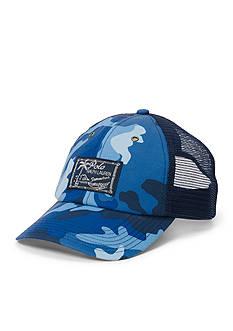 Polo Ralph Lauren Camo-Print Trucker Hat