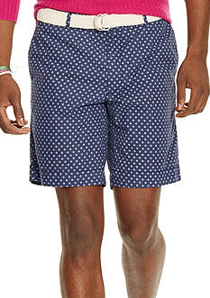 Polo Ralph Lauren Straight-Fit Nautical Poplin Shorts