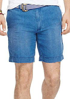 Polo Ralph Lauren Straight-Fit Linen Chambray Shorts