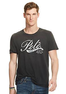 Polo Ralph Lauren Graphic Jersey Crew Neckline Tee