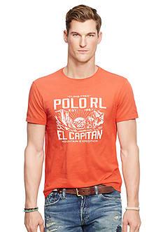 Polo Ralph Lauren Graphic Jersey Crew Neck Tee