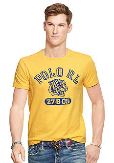 Polo Ralph Lauren Graphic Jersey Crew Neck Tee