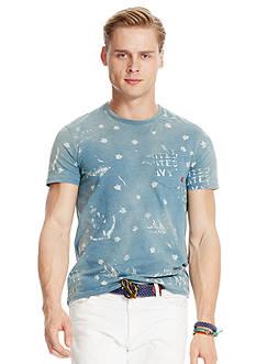 Polo Ralph Lauren Printed Indigo Jersey T-Shirt