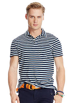 Polo Ralph Lauren Slub Cotton Jersey Polo Shirt