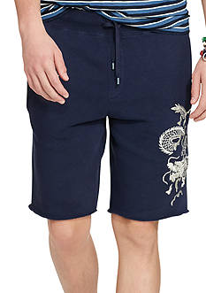 Polo Ralph Lauren Embroidered Fleece Shorts