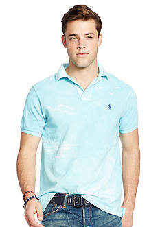 Polo Ralph Lauren Custom-Fit Printed Polo Shirt
