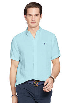 Polo Ralph Lauren Short-Sleeve Linen Shirt