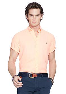 Polo Ralph Lauren Short-Sleeve Linen Shirt