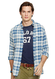 Polo Ralph Lauren Indigo Plaid Twill Shirt