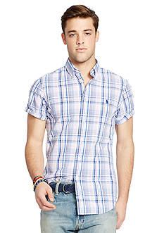 Polo Ralph Lauren Seersucker Short-Sleeve Shirt