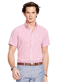 Polo Ralph Lauren Seersucker Short-Sleeve Shirt