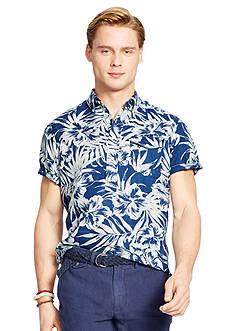 Polo Ralph Lauren Floral-Print Linen Shirt