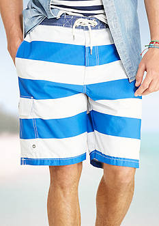 Polo Ralph Lauren Striped Kailua Swim Trunks