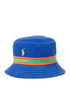Polo Ralph Lauren Reversible Plaid Bucket Hat