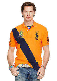 Polo Ralph Lauren Classic-Fit Banner-Stripe Polo Shirt